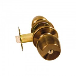 Ручка-кноб  под ключ для межкомнатных дверей FKF 6881 ET – AB