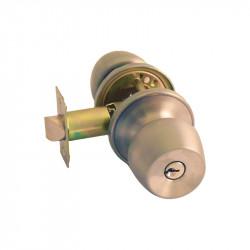 Ручка-кноб  под ключ для межкомнатных дверей FKF 6881 ET – SS