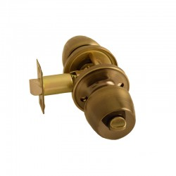 Ручка-кноб  WC для межкомнатных дверей FKF 6882 BK – AB