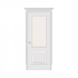 Дверь межкомнатная El'Porta Classico 13 (Virgin / White Crystal)