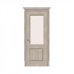 Дверь межкомнатная El'Porta Эко Classico 33 (Cappuccino Veralinga / White Crystal)