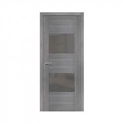 Дверь межкомнатная El'Porta Эко VG2 (Grey Veralinga / Smoke)