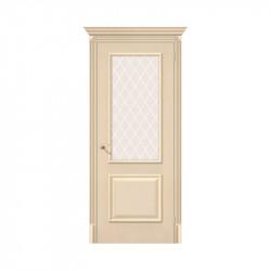Дверь межкомнатная El'Porta Classico 13 (Ivory / White Crystal)