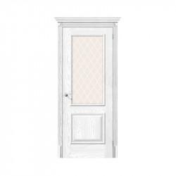 Дверь межкомнатная El'Porta Classico 13 (Silver Ash / White Crystal)
