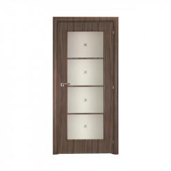 Дверь межкомнатная Mario Rioli Saluto 204LF CPL (Серый палисандр)