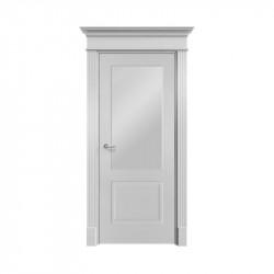 Дверь межкомнатная Ofram Нафта-2 ПО (Эмаль серая)