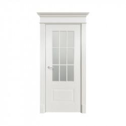 Дверь межкомнатная Ofram Оксфорд-2 ПО (Эмаль белая)