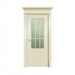Дверь межкомнатная Ofram Оксфорд-2 ПО (Слоновая кость) (RAL 9001)