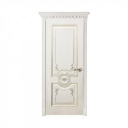 Дверь межкомнатная Оникс Лувр (Эмаль белая)