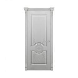 Дверь межкомнатная Оникс Лувр (Эмаль серая)