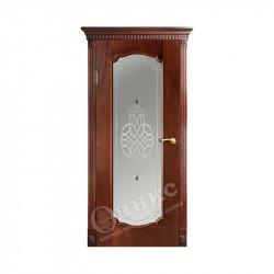 Дверь межкомнатная Оникс Венеция 2 (Красное дерево)