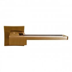Ручка на розетке для межкомнатных дверей ORO&ORO 032 – 13E SN
