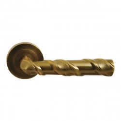 Ручка на розетке для межкомнатных дверей ORO&ORO 048 – 16E WAB
