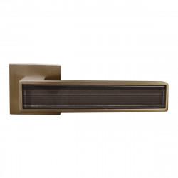Ручка на розетке для межкомнатных дверей ORO&ORO 204 – 15E MSN / STYLISH GREY