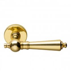 Ручка на розетке для межкомнатных дверей Martinelli Bruxelles 362/12 – OLV